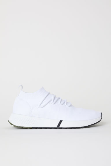 Fully-fashioned trainers - White - Men | H&M