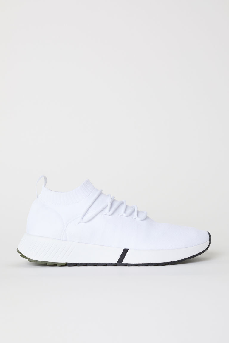 Sneaker in Fully-Fashion - Weiss - HERREN | H&M CH