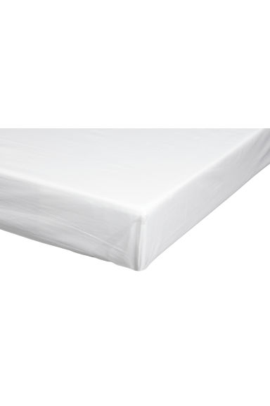 Cotton flat sheet - White - Home All | H&M GB