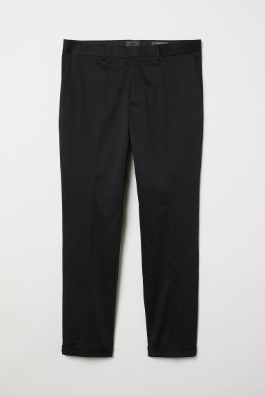 Chinos Skinny Fit - Black - Men | H&M