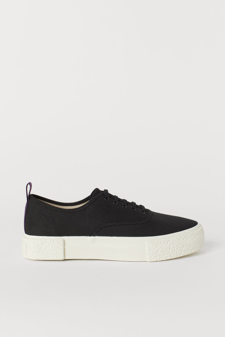 Sneakers in tela - Nero -  | H&M IT