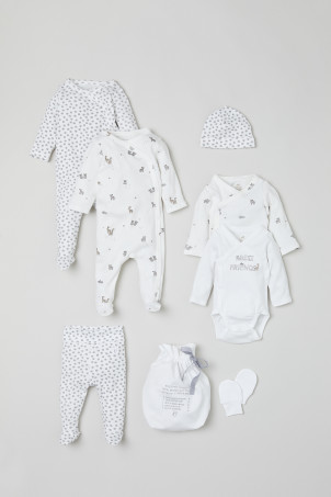 7-piece cotton set