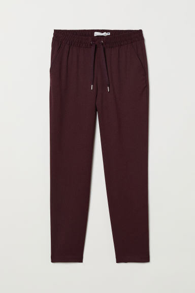 Joggers - Bordeauxrood -  | H&M BE