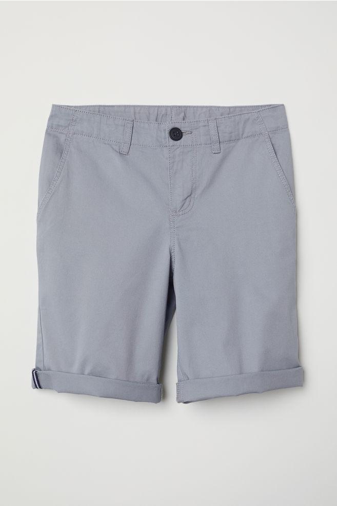 63f650de8fc3 Chino shorts - Light grey - Kids