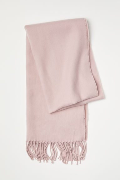 Woven Scarf - Powder pink - Ladies | H&M US