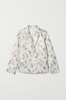 Jacquard-patterned jacket