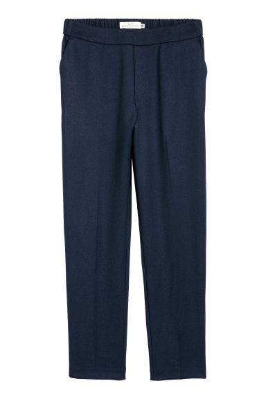 Pull-on trousers - Dark blue - Ladies | H&M