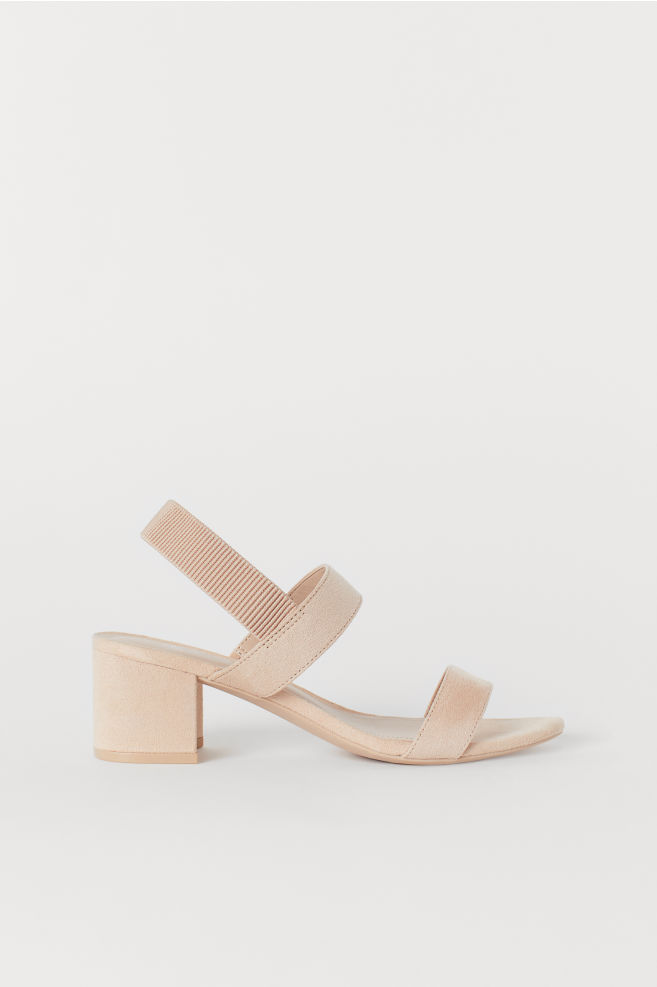 dfbed54aec41 Sandals - Powder beige - Ladies