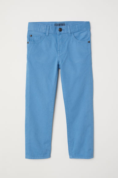 Twill trousers Regular fit - Blue - Kids | H&M
