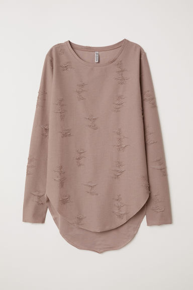 Trashed top - Mole - Ladies | H&M