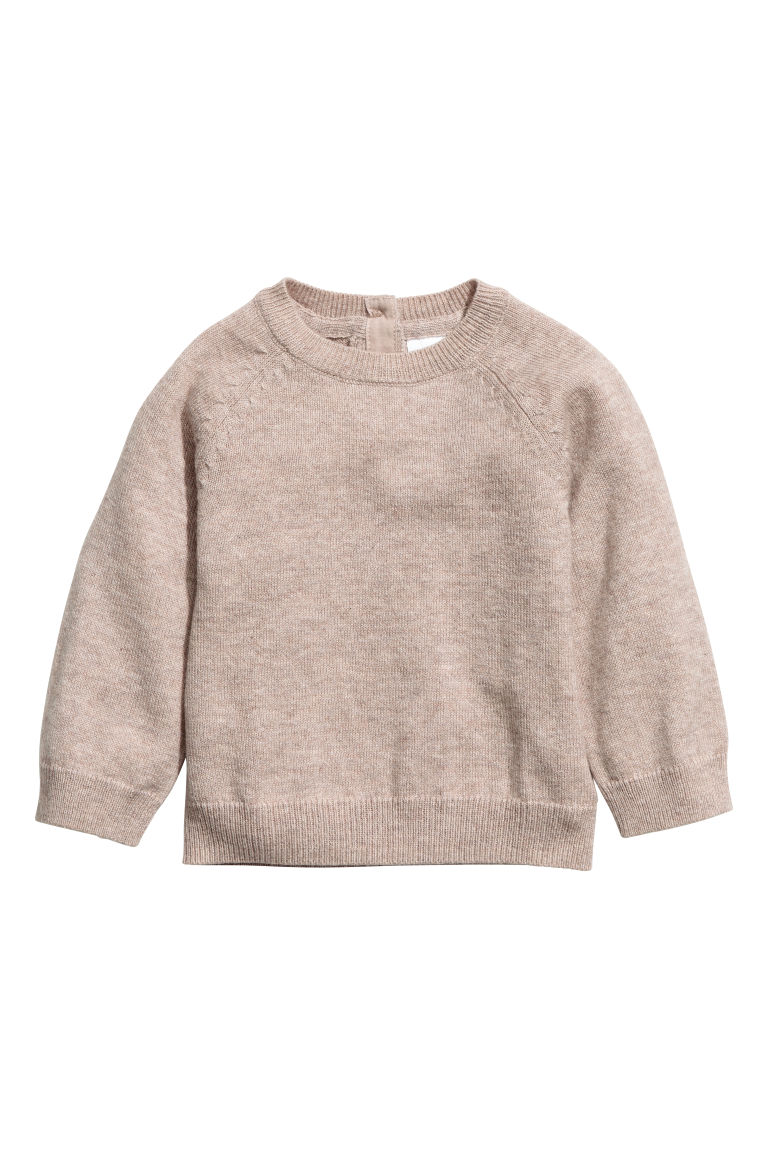 Cashmere jumper - Light beige - Kids | H&M CN