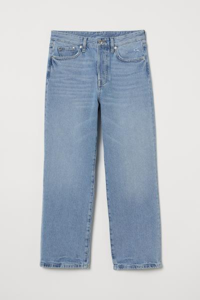 H&M - Straight High Ankle Jeans - 4