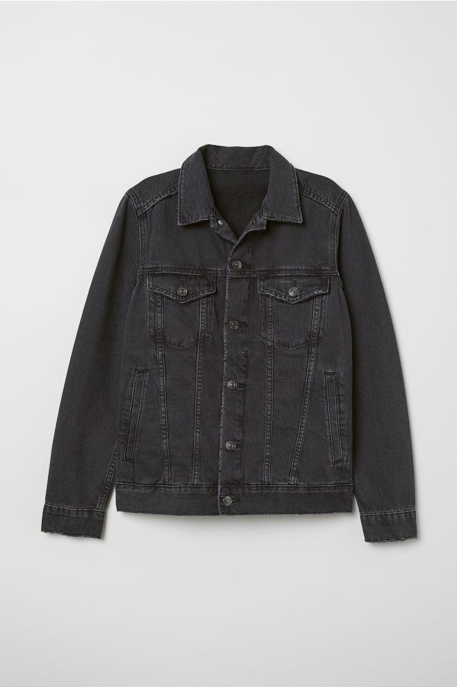 ef5c31789401 Denim jacket - Black denim - Ladies