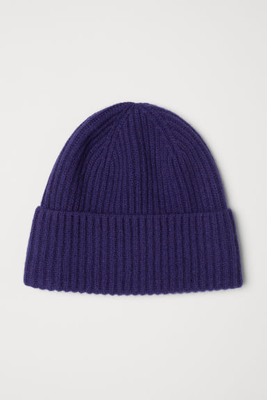 Cashmere-blend hat - Purple - Ladies | H&M