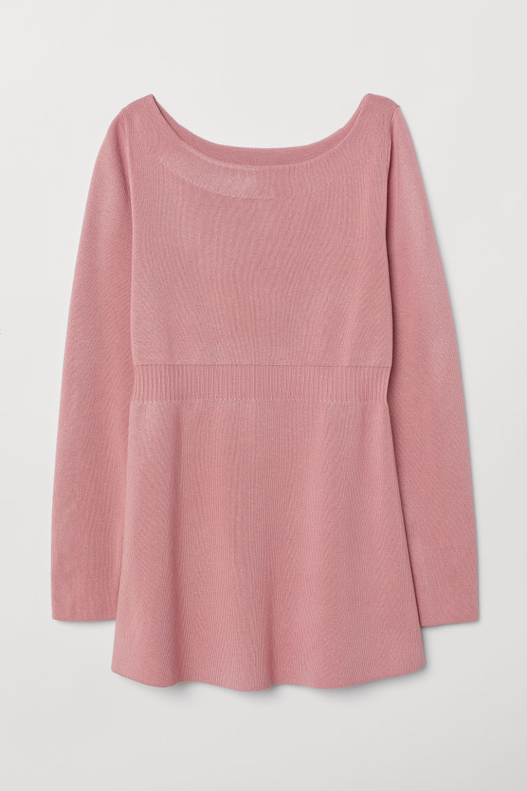 MAMA Fine-knit Sweater - Dusty rose - Ladies | H&M CA