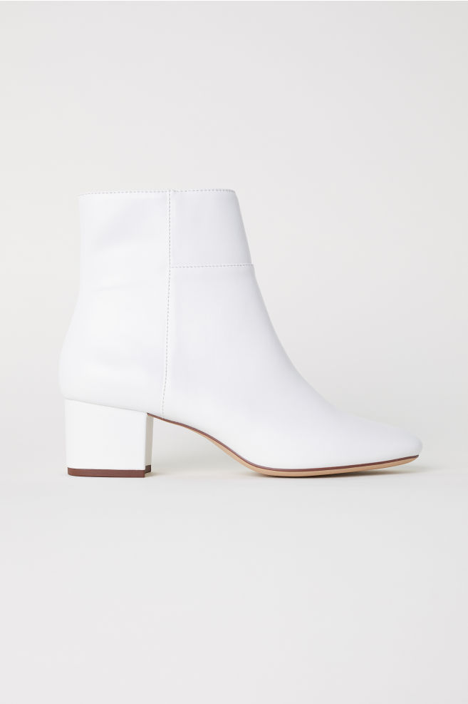 783ff04ce2f Ankle Boots - White - Ladies | H&M ...
