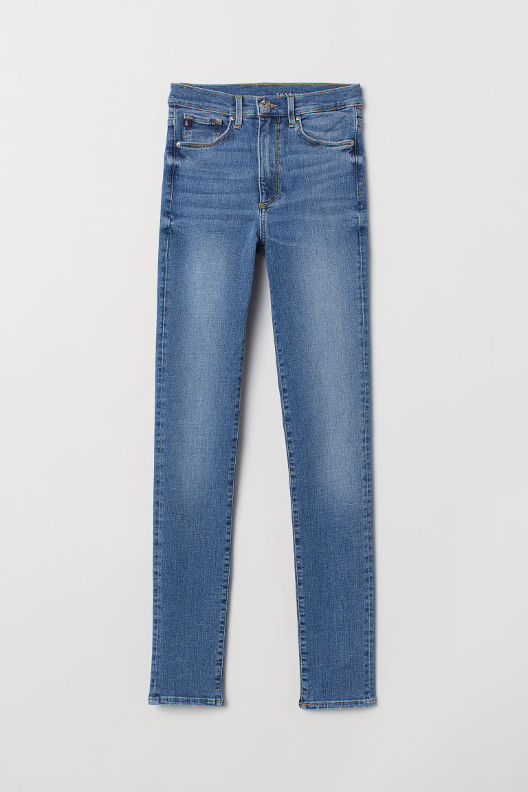 Shaping Skinny High Jeans - Blau -  | H&M DE