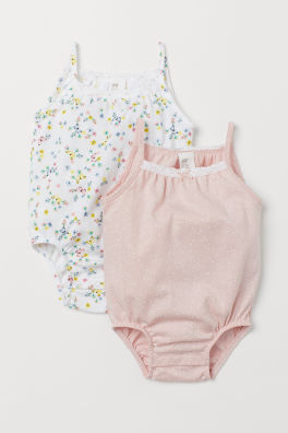 11e96b749 Baby Girl Bodysuits - Bodysuits for both play and sleep | H&M US