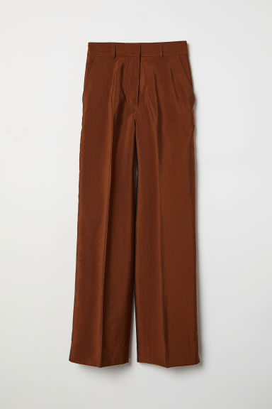 Wide trousers - Light brown - Ladies | H&M