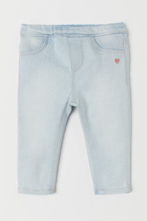 Treggings en denim