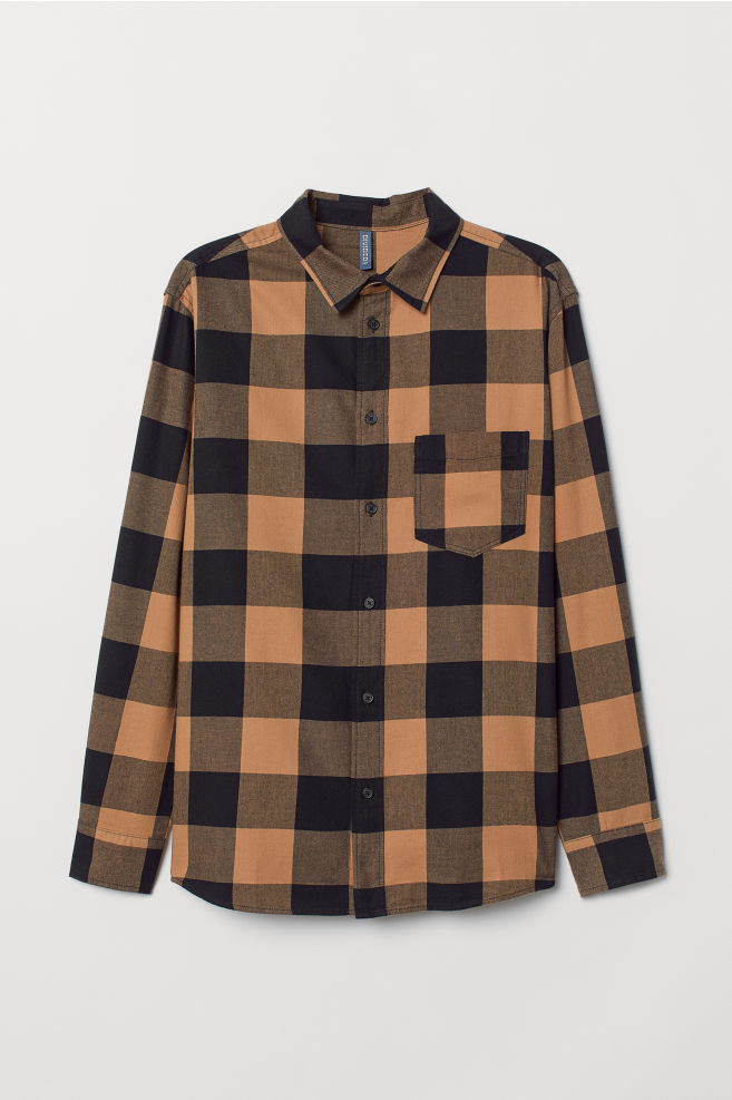 16ea84dbe9 Plaid Cotton Shirt