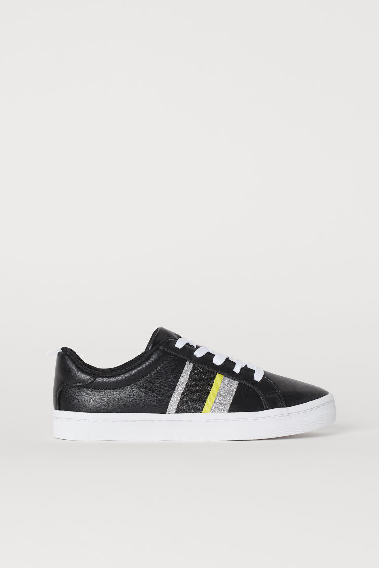 Trainers - Black/Stripes -  | H&M