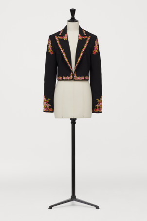 Blazer with embroideryModal