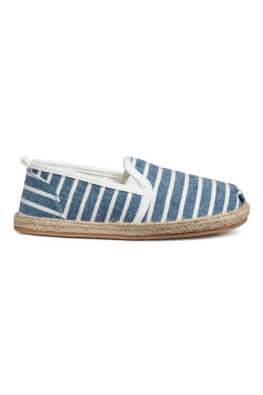 Espadrilles - Light blue/Striped -  | H&M