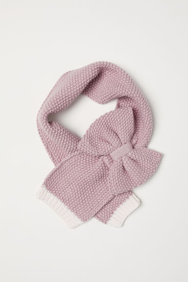 Scarf with a bow - Light pink - Kids | H&M