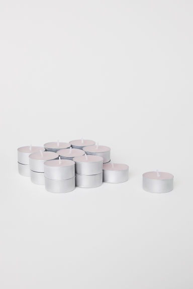 Set van 18 geurkaarsen - Roze - HOME | H&M BE