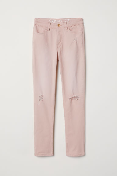 Twill trousers Skinny Fit - Light pink - Kids | H&M