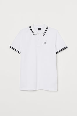 db3d6794acb Polo shirt. £12.99. New Arrival. White · Printed T-shirtModel