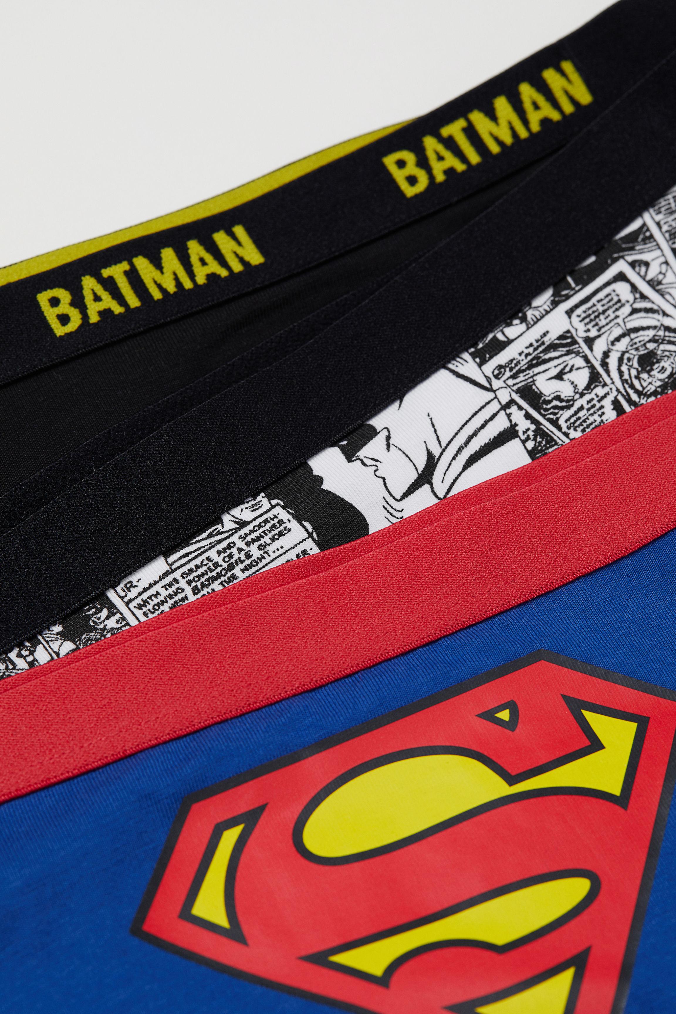 dbb13f0ad1e1b 3-pack hipster briefs - Black Batman Blue Superman -
