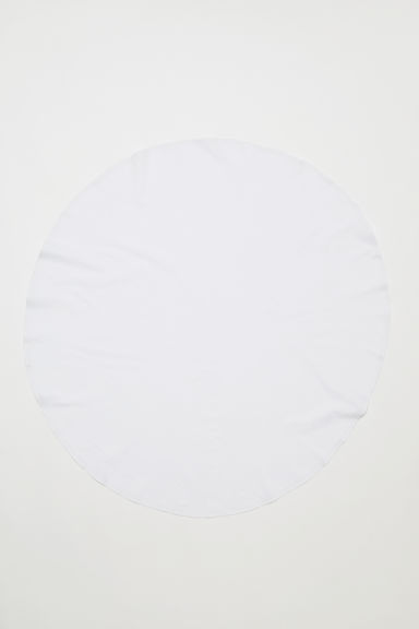 Round cotton tablecloth - White - Home All | H&M CN