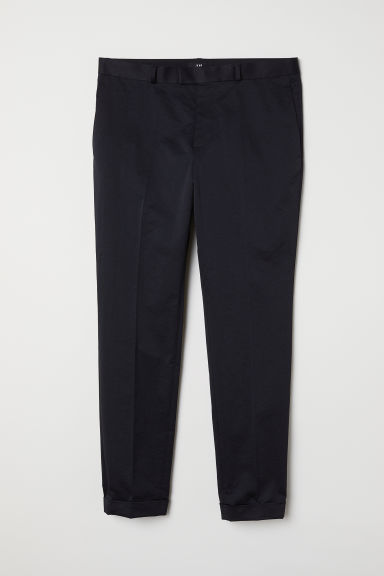 Suit trousers Slim fit - Black -  | H&M