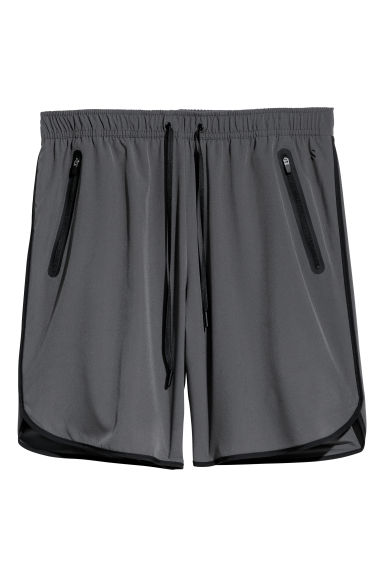 Sports shorts - Dark grey - Men | H&M CN