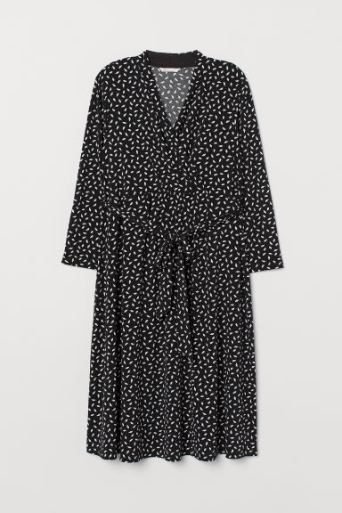 MAMA Dress - Black/Patterned - Ladies | H&M CN
