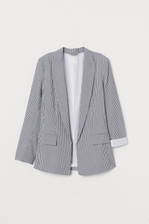 Straight-cut jacket