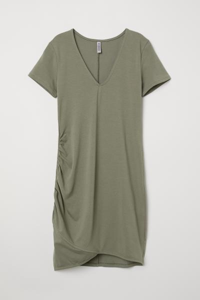 H&M - V-neck jersey dress - 3