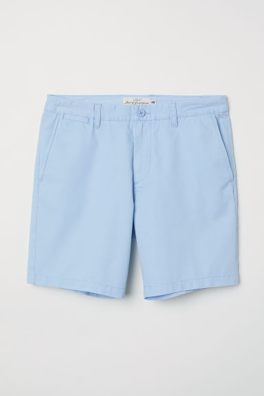 Chino shorts - Light blue - Men | H&M