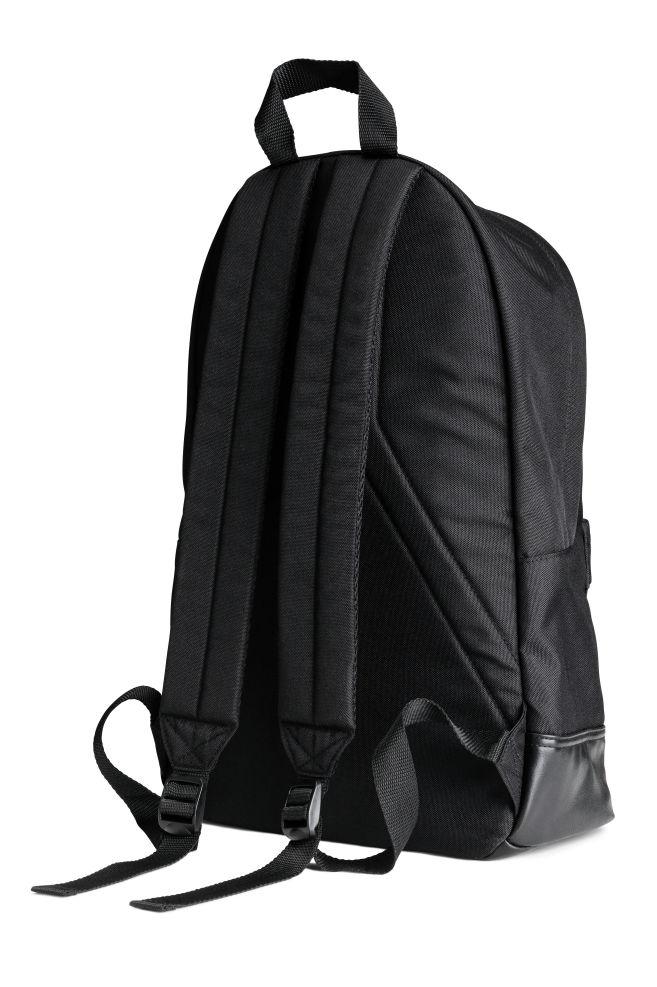 e531e8d95b9b Рюкзак - Черный - Мужчины | H&M ...