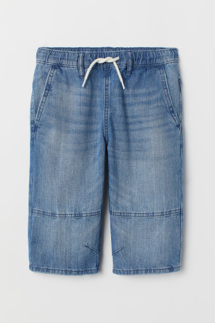 Denim Clamdiggers