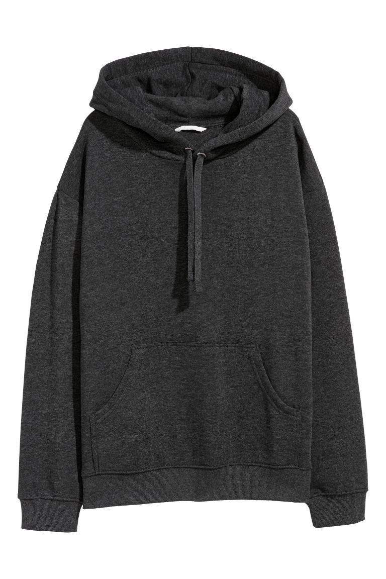 Hooded top - Dark grey - Ladies | H&M