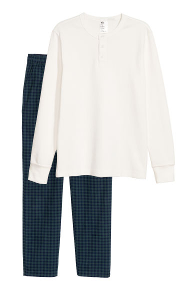 Pyjama - Wit -  | H&M BE