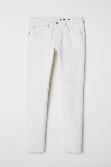 Super Skinny Jeans - Light beige -  | H&M