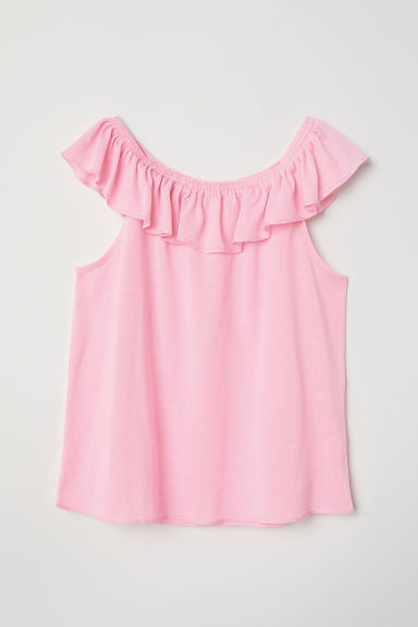 Bohemian top - Pink - Kids | H&M