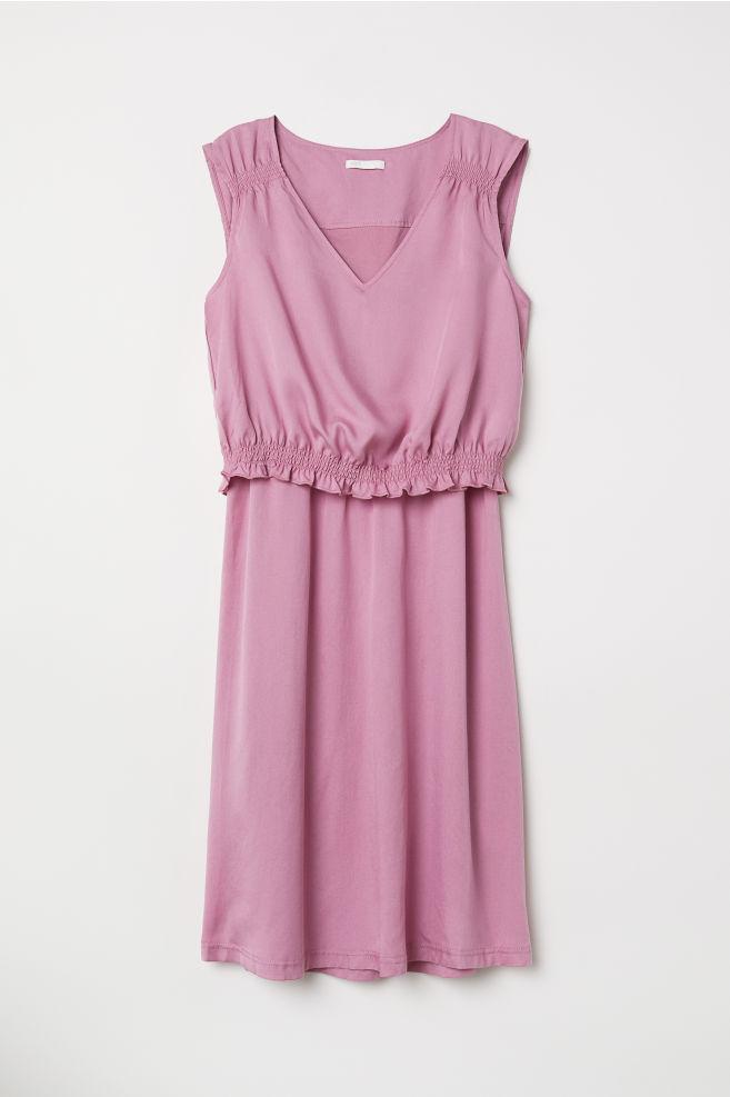 5b91a9e6467 MAMA Nursing Dress - Pink - Ladies