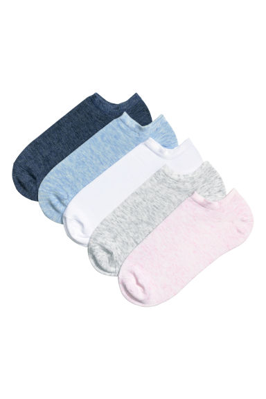 5-pack trainer socks - Blue/Pink - Ladies | H&M CN
