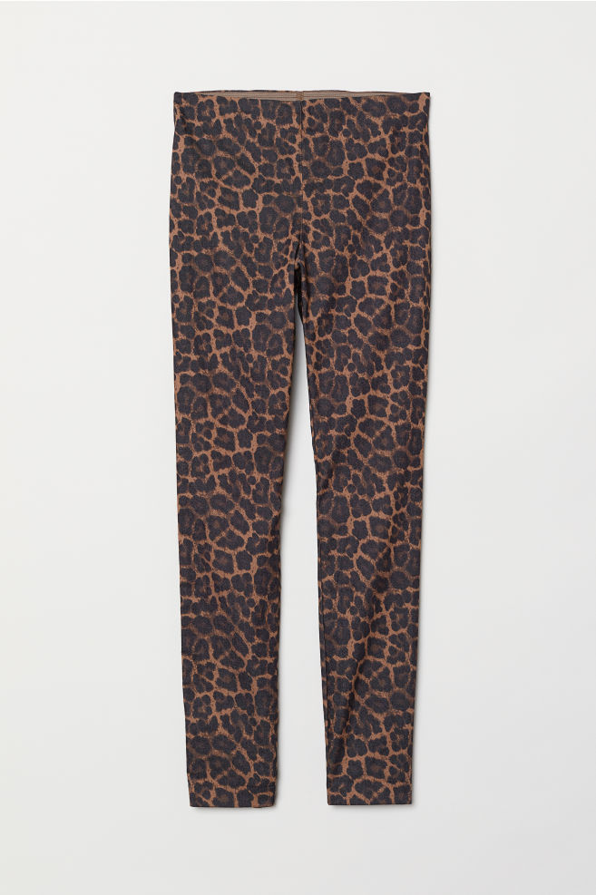 Treggings - Brun/Leopard - DAM | H&M SE 5
