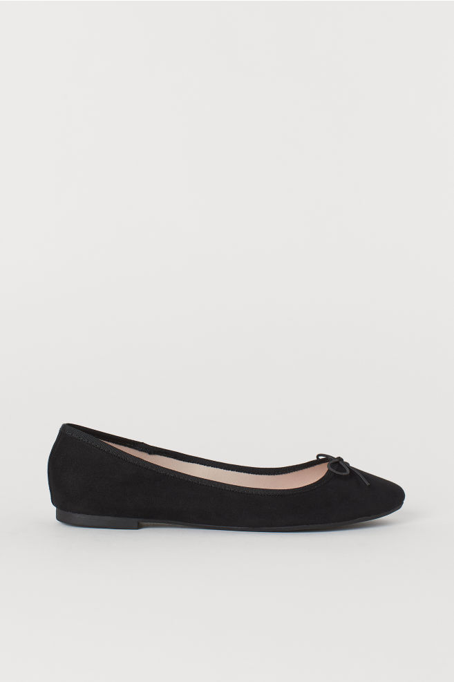 101123ba0ad Ballet Flats - Black - Ladies